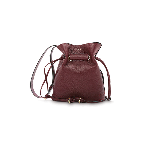 LE HUIT BUCKET BAG SMALL BLACKCURRANT
