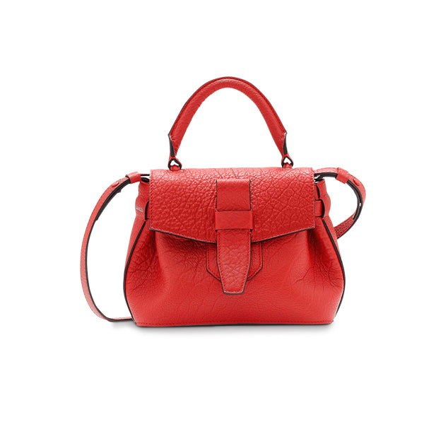 CHARLIE NANO BAG RED LANCEL