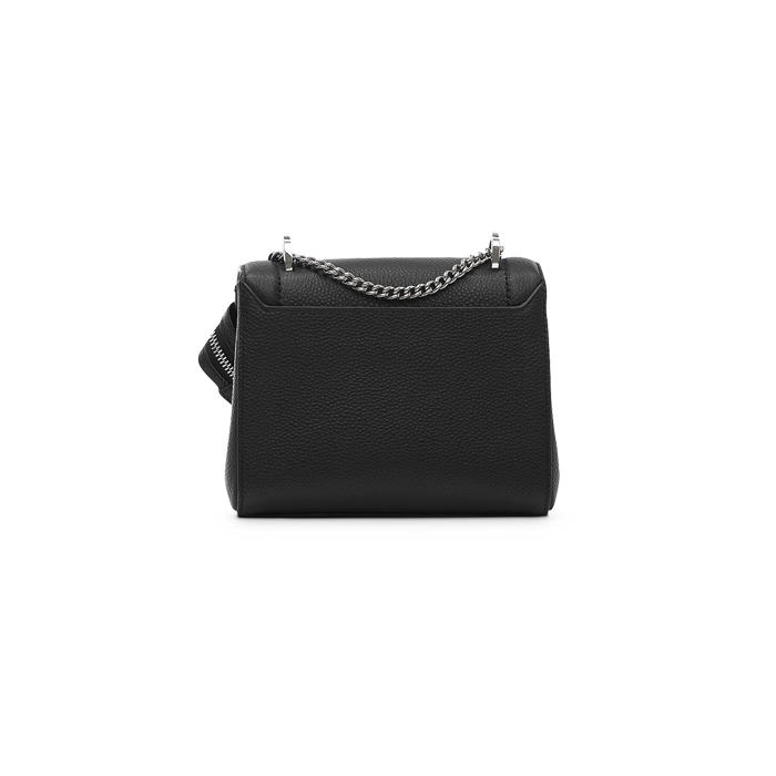 NINON FLAP BAG SMALL BLACK