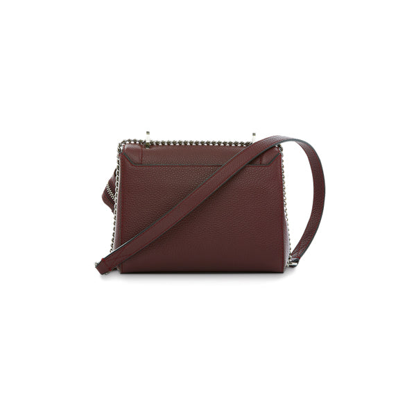 NINON FLAP BAG SMALL BLACKCURRANT
