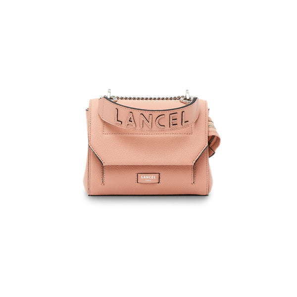 NINON FLAP BAG SMALL SUNSET PINK