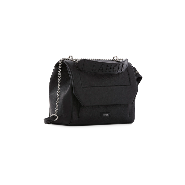 NINON FLAP BAG MEDIUM BLACK