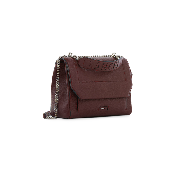 NINON FLAP BAG MEDIUM BLACKCURRANT