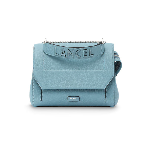 NINON FLAP BAG MEDIUM CLOUD BLUE