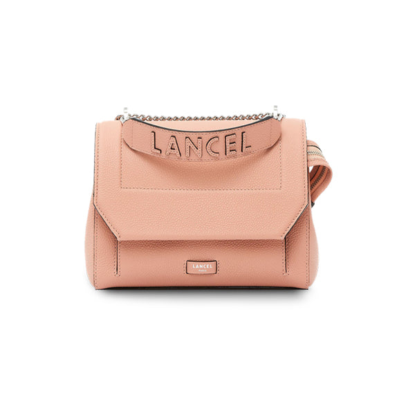 NINON FLAP BAG MEDIUM SUNSET PINK