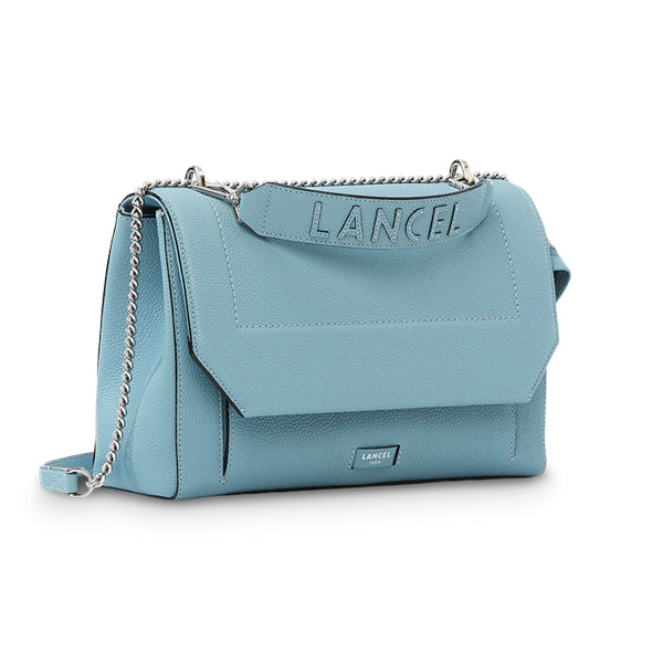 NINON FLAP BAG LARGE CLOUD BLUE