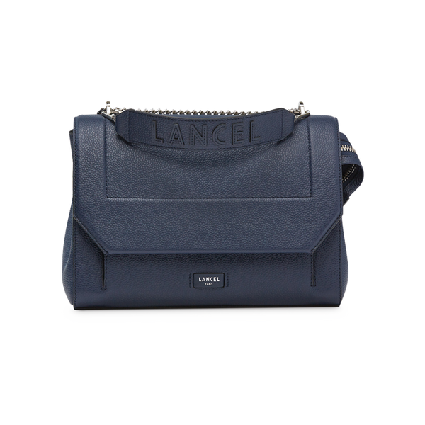 NINON FLAP BAG LARGE PETROL