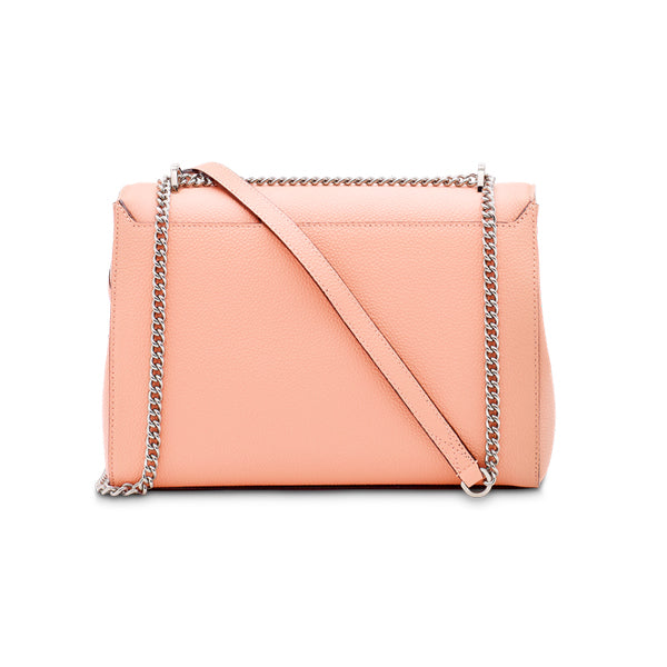 NINON FLAP BAG LARGE SUNSET PINK