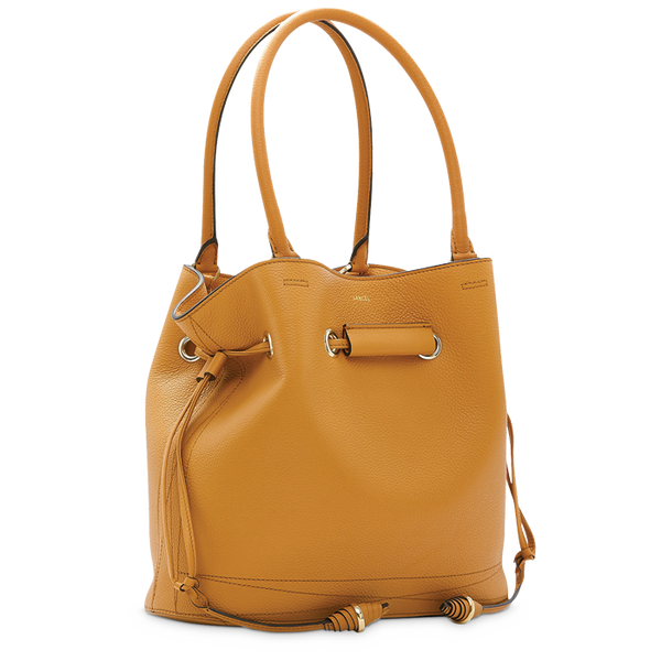 LE HUIT BUCKET TOTE BAG MEDIUM CAMEL