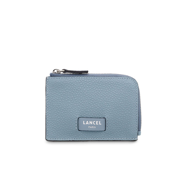 NINON ZIPPED CARD HOLDER CLOUD BLUE