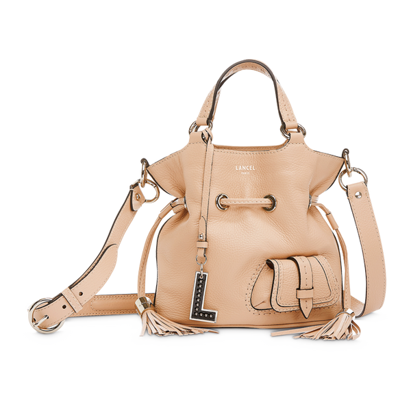 PREMIER FLIRT BUCKET BAG SMALL NUDE