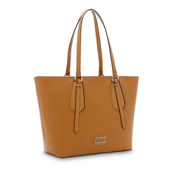 OPERA ZIPPED TOTE MEDIUM CAMEL