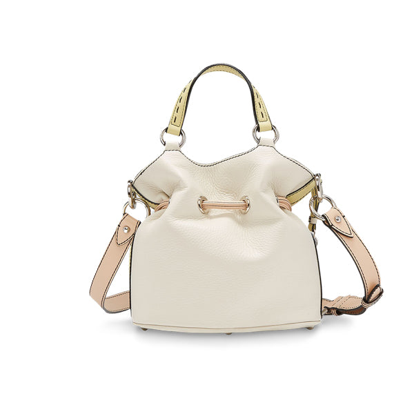PREMIER FLIRT BUCKET BAG SMALL MULTICO SNOW