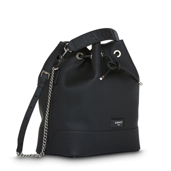 NINON BUCKET BAG MEDIUM BLACK