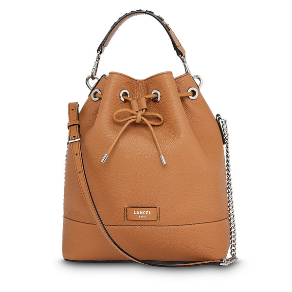 NINON BUCKET BAG MEDIUM CAMEL