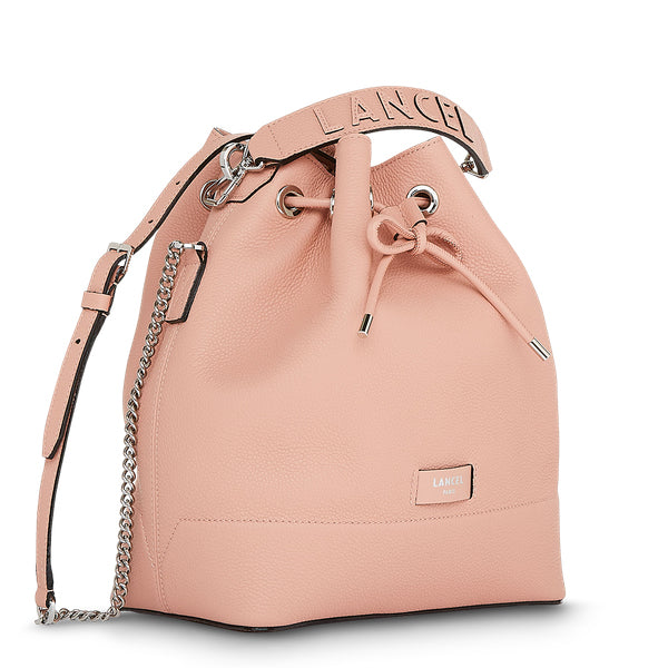 NINON BUCKET BAG MEDIUM SUNSET PINK