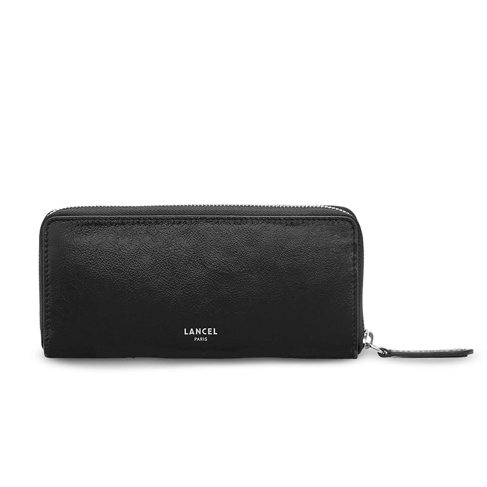 CLIC SLIM ZIP WALLET BLACK