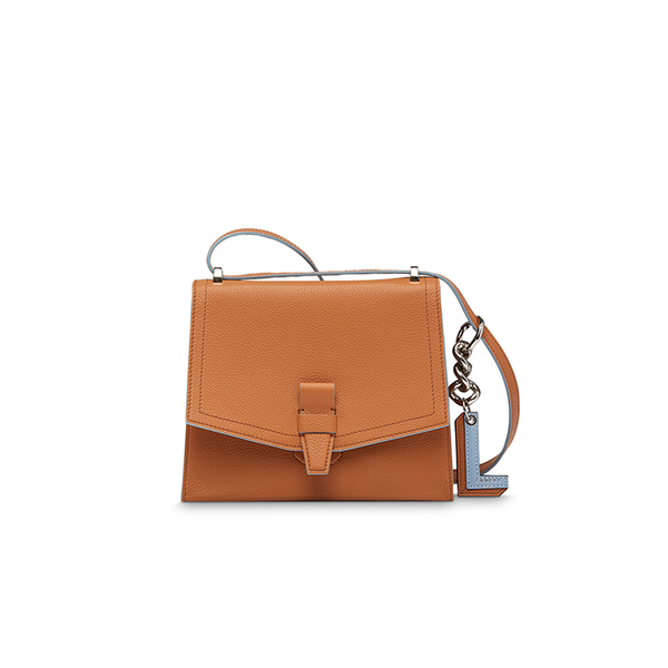 CHARLIE CHIC FLAP BAG SMALL CAMEL