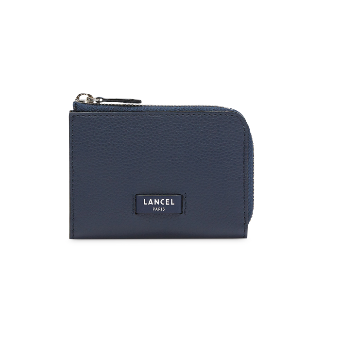 NINON SLIM ZIP WALLET SMALL PETROL