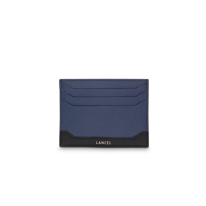 RIZIERE CARD HOLDER 6CC BLUE / BLACK