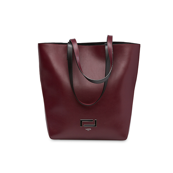 PIA TOTE BAG BAG BLACKCURRANT / BLACK