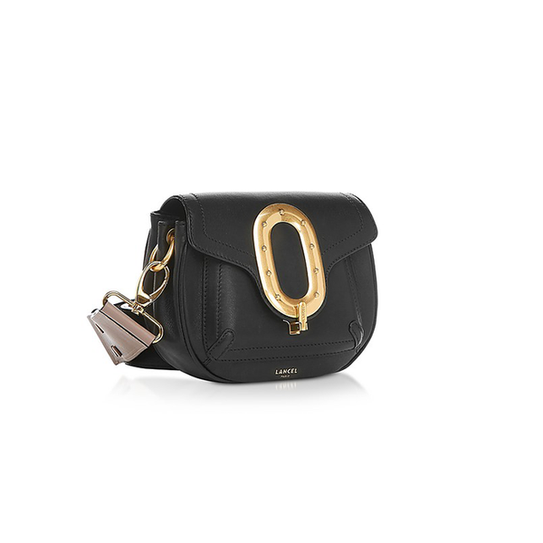 ROMANE SADDLE BAG SMALL BLACK