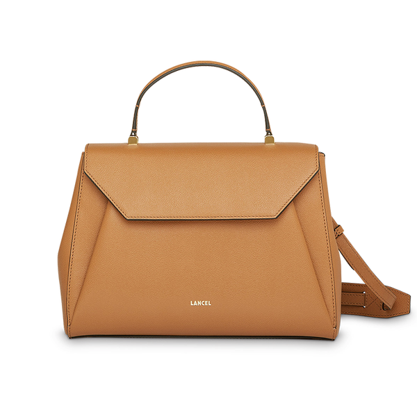 LISON TOP HANDLE BAG SMALL CAMEL