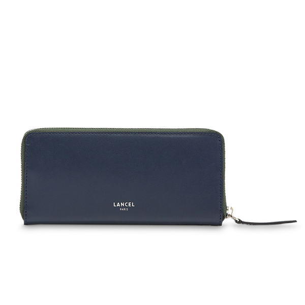 CLIC SLIM ZIP WALLET PETROL / MILITARY GREEN / CLAY