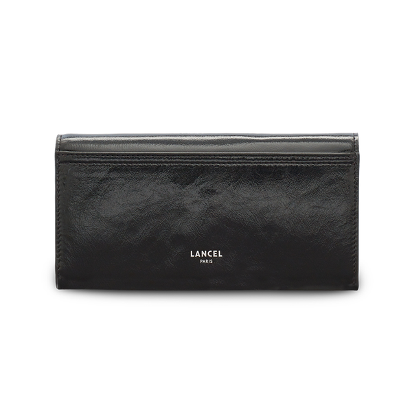CLIC SLIM FLAP WALLET BLACK