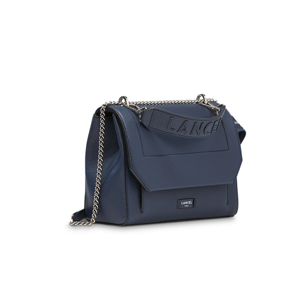 NINON FLAP BAG MEDIUM PETROL