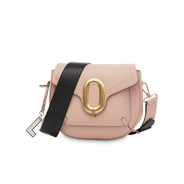 ROMANE SADDLE BAG LARGE NUDE