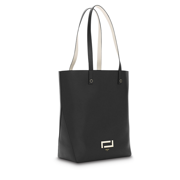 PIA TOTE BAG BAG BLACK / SNOW