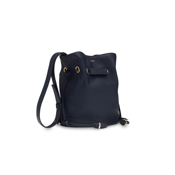 LE HUIT BUCKET BAG SMALL NAVY BLUE