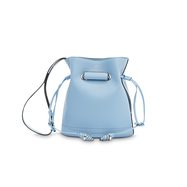 LE HUIT BUCKET BAG SMALL SKY BLUE