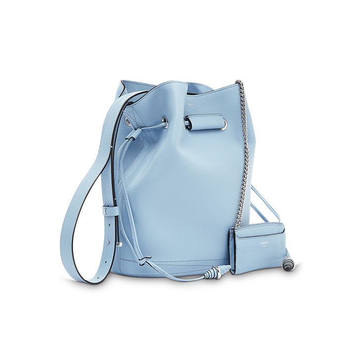 LE HUIT BUCKET BAG LARGE SKY BLUE