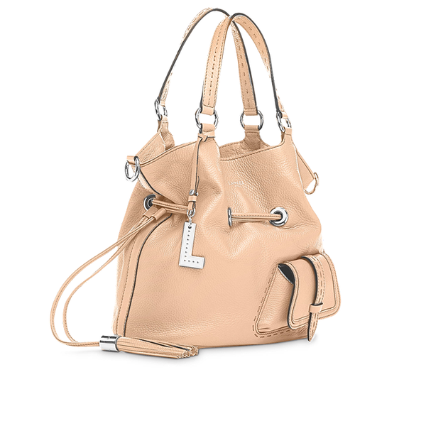 PREMIER FLIRT BUCKET BAG MEDIUM NUDE