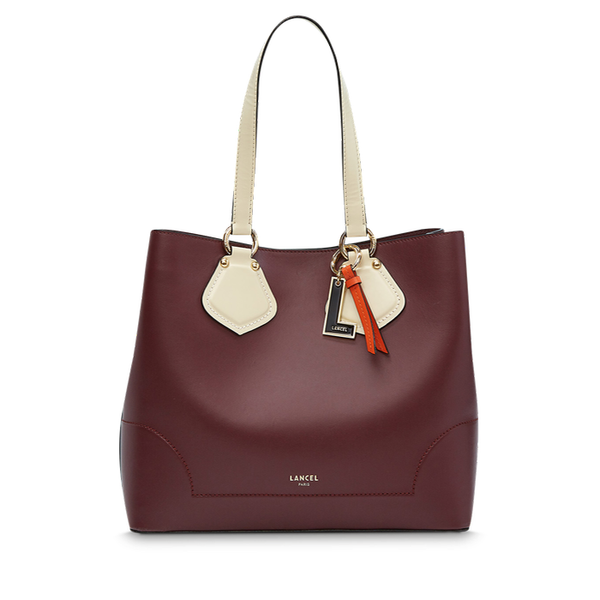 IZY CARRYALL MEDIUM BLACKCURRANT / CREAM / PAPAYA