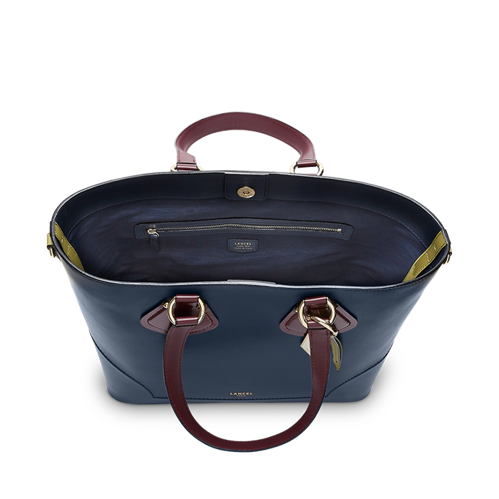 IZY CARRYALL MEDIUM PETROL / BLACKCURRANT / PISTACHIO
