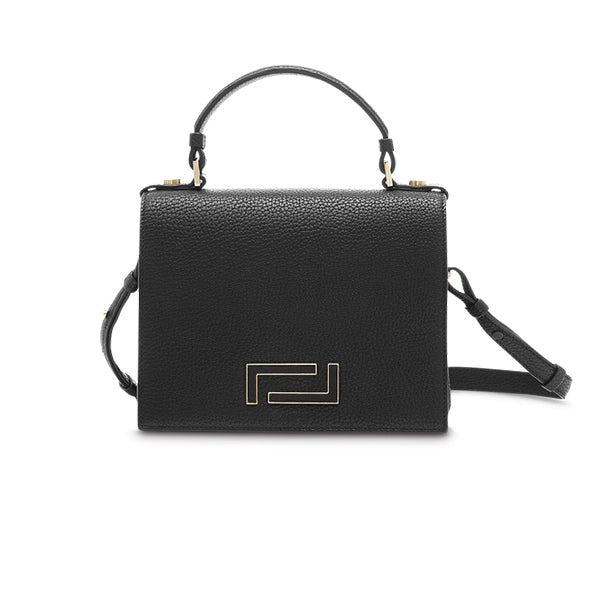 PIA TOP HANDLE BAG BLACK