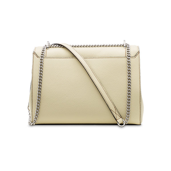 NINON FLAP BAG LARGE CREAM