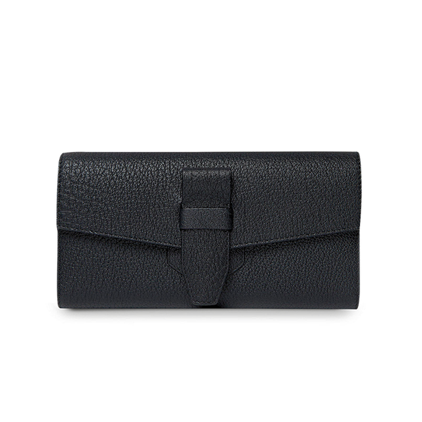 CHARLIE FOLDING CONTINENTAL WALLET BLACK