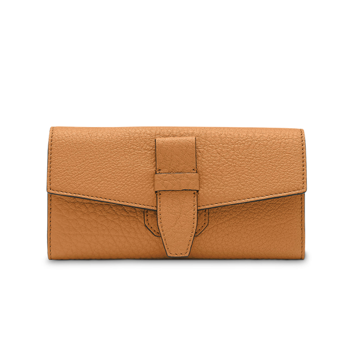 CHARLIE FOLDING CONTINENTAL WALLET CAMEL