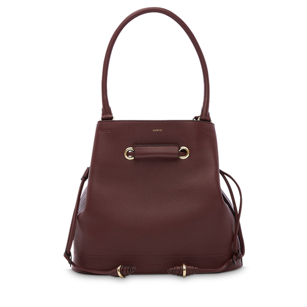 LE HUIT BUCKET TOTE BAG MEDIUM BLACKCURRANT
