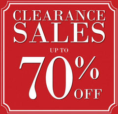 Clearance Closeout Specials