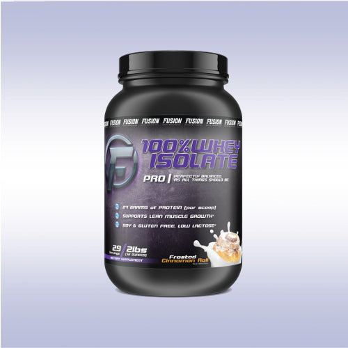 Fusion Sports Performance 100% Whey Protein Isolate