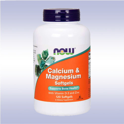 NOW Calcium Magnesium w/ Vitamin D-3 and Zinc