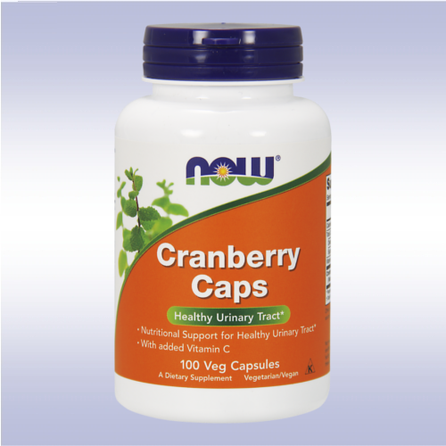NOW Cranberry Caps