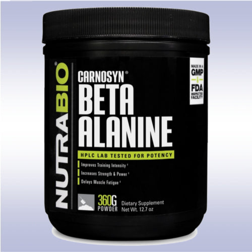 NutraBio Beta Alanine Powder (360 g)