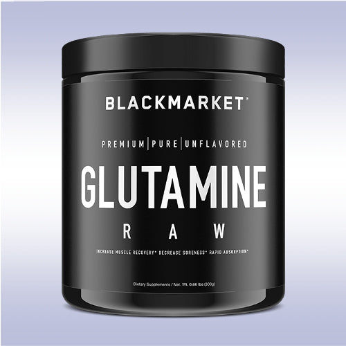 BlackMarket Labs RAW Glutamine
