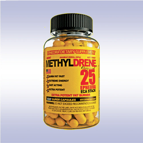Cloma Pharma MethylDrene 25 ECA Stack